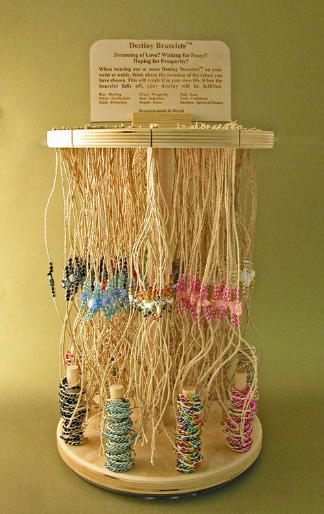 Wholesale Hope Bracelet and Ring Display