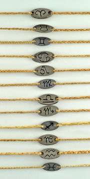 Zodiac Sign Wholesale Bracelets