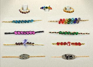 Brazilian Destiny Rings Bracelets Whole